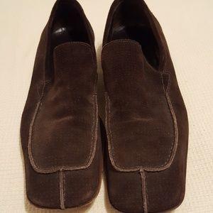 Miu Miu mens suede loafers